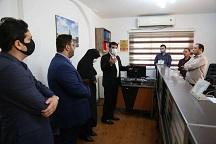بازدید ناصر عطایی سرپرست شهرداری رشت از منطقه دو