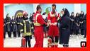 آموزش ایمنی و آتش نشانی به دانش آموزان دبیرستان دخترانه سما و دانش آموزان دبستانهای پسرانه سما و کنکاش/ آتش نشانی رشت