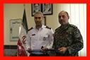 دیدار رئیس سازمان آتش نشانی با فرمانده پلیس یگان ویژه استان گیلان /آتش نشانی رشت