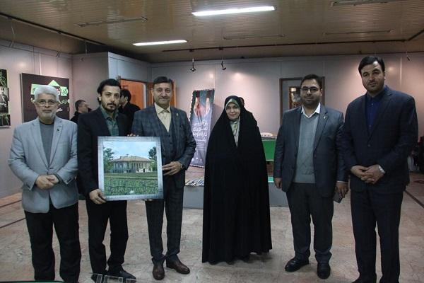 نمایشگاه بازآفرینی تصویری دارالحکومه رشت افتتاح شد