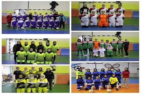 مسابقات منطقه ایی فوتسال بانوان برگزار شد
